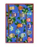 Joy Carpets Kid Essentials It's A Hoot Multi Area Rug