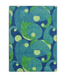 Joy Carpets Kid Essentials Jazzy Blue/Teal Area Rug