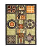 Joy Carpets Kid Essentials Games Galore Autumn Area Rug