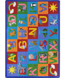 Joy Carpets Kid Essentials Learning Letter Sounds Multi Area Rug