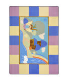 Joy Carpets Kid Essentials Lil' Fairy Multi Area Rug
