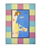 Joy Carpets Kid Essentials Lil' Mermaid Multi Area Rug