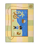 Joy Carpets Kid Essentials Lil' Pirate Multi Area Rug