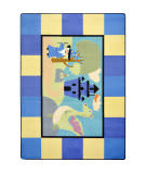 Joy Carpets Kid Essentials Lil' Wizard Multi Area Rug