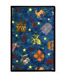 Joy Carpets Playful Patterns Mythical Kingdom Multi Area Rug