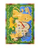 Joy Carpets Kid Essentials Number's Rule Multi Area Rug