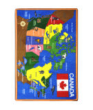 Joy Carpets Kid Essentials Oh Canada Multi Area Rug
