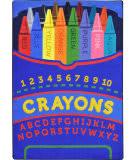 Joy Carpets Kid Essentials Pick A Color Multi Area Rug