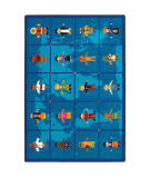 Joy Carpets Kid Essentials Reach Across The World Multi Area Rug