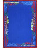 Joy Carpets Kid Essentials Read Believe And Achieve Multi Area Rug