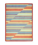Joy Carpets Kid Essentials Rhythm Tropical Area Rug