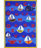 Joy Carpets Kid Essentials Sailor's Alphabet Multi Area Rug