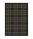 Joy Carpets Games People Play Saint Andrews Flannel Gray Area Rug