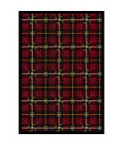 Joy Carpets Games People Play Saint Andrews Lumberjack Red Area Rug