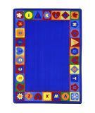 Joy Carpets Kid Essentials Seasons And Shapes Alphabet Multi Area Rug