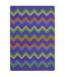 Joy Carpets Kid Essentials Sonic Violet Area Rug
