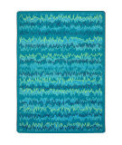 Joy Carpets Kid Essentials Static Electricity Teal Area Rug