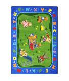 Joy Carpets Kid Essentials Teddy Bear Playground Multi Area Rug
