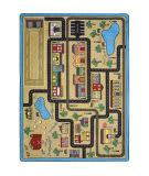 Joy Carpets Kid Essentials Tiny Town Sandstone Area Rug