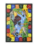 Joy Carpets Kid Essentials We Dig Dinosaurs Multi Area Rug