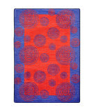 Joy Carpets Kid Essentials Whimzi Red Area Rug