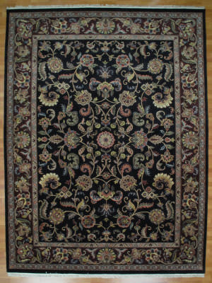 Kalaty Oak 173837 Black Gold Area Rug