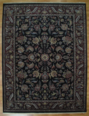 Kalaty Oak 178202 Black Gold Area Rug