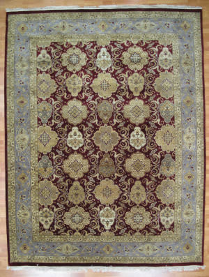 Kalaty Oak 180774 Burgundy Area Rug
