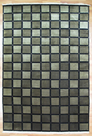 Kalaty Oak 184795 Black Area Rug