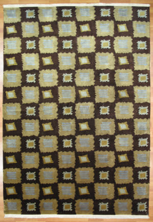 Kalaty Oak 244620 Brown Area Rug