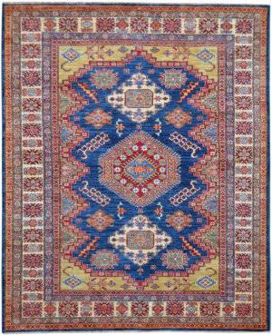 Kalaty Oak Pak Kazak 4479 Blue Area Rug