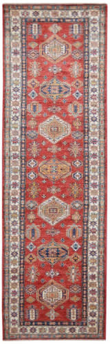 Kalaty Oak Pak Kazak 4487 Red Area Rug