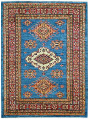 Kalaty Oak Pak Kazak 4488 Blue Area Rug