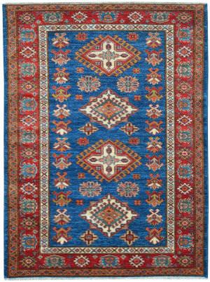 Kalaty Oak Pak Kazak 4489 Blue Area Rug