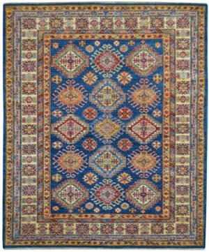 Kalaty Oak Pak Kazak 4504 Blue Area Rug