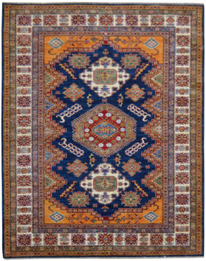 Kalaty Oak Pak Kazak 4510 Blue Area Rug