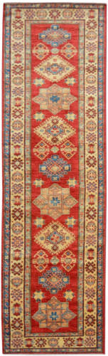 Kalaty Oak Pak Kazak 4519 Red Area Rug