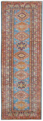Kalaty Oak Pak Kazak 4527 Blue Area Rug