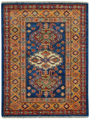 Kalaty Oak Pak Kazak 4563 Blue Area Rug