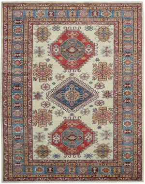 Kalaty Oak Pak Kazak 4633 Ivory Area Rug