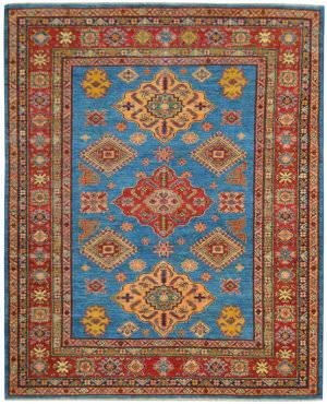 Kalaty Oak Pak Kazak 4655 Blue Area Rug