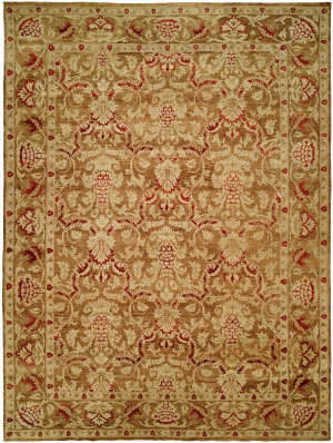 Kalaty Royal Manner Estates Re-861 Sandy Brown Area Rug