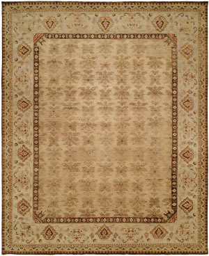 Kalaty Royal Manner Estates Re-864 Soft Gold Area Rug