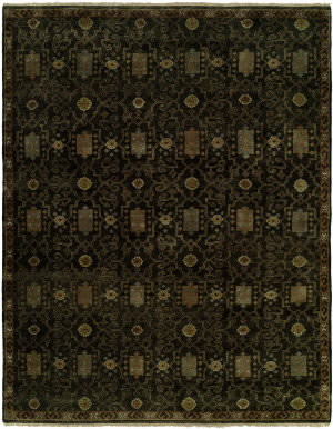Famous Maker Artisan 100040 Smokey Black Area Rug