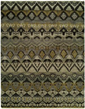 Famous Maker Artisan 100053 Grey Khaki Area Rug