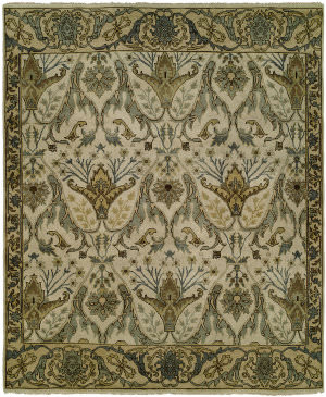 Famous Maker Artisan 100060 Creamy White Area Rug