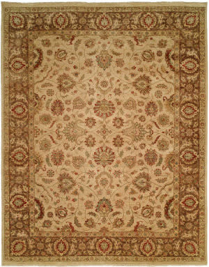 Famous Maker Angelica 100963 Ivory Area Rug