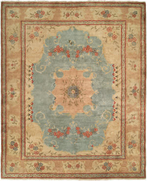 Kalaty Carol Bolton Cb-906 French Bouquet Area Rug