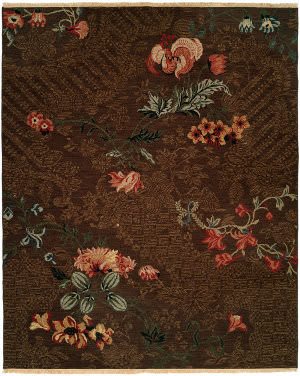 Kalaty Caspian Cp-817 Brown Area Rug