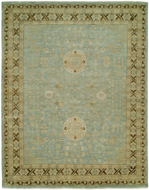 Famous Maker Delfino 100104 Blue Bark Area Rug